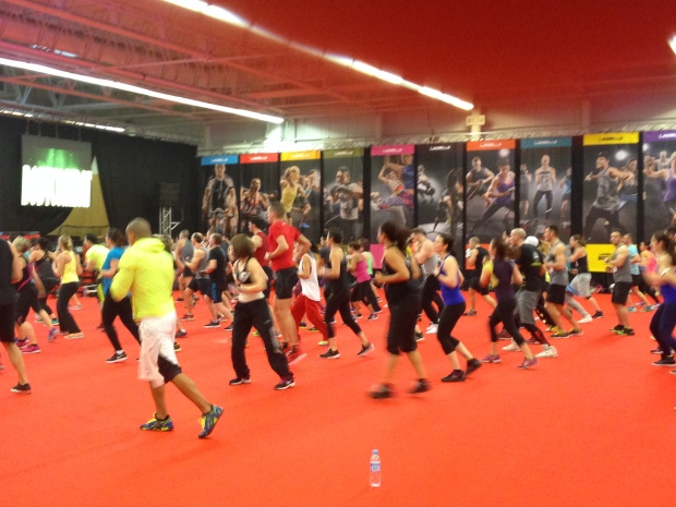 Les Mills Salon Body Fitness 2015