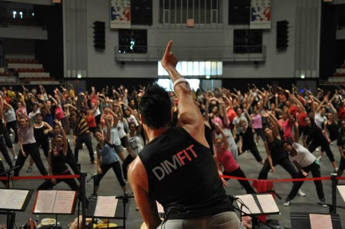 Cours de Fitness gratuits lancement 2015-2016 Dimfit à Lyon