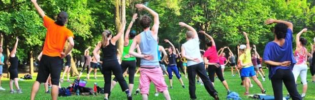 Cours de Gym Suédoise gratuits en plein air à Lyon