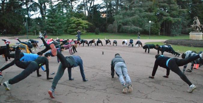 Training Courir à Lyon Parc de la Tête d'Or