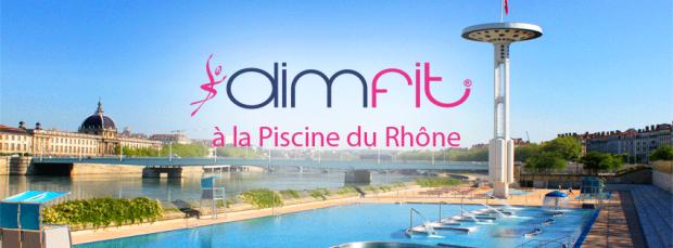 Retrouvez les cours de fitness gratuits Dimfit à la piscine du Rhône