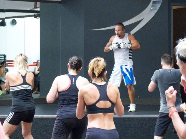 Body Combat au marathon Les Mills au Wellness