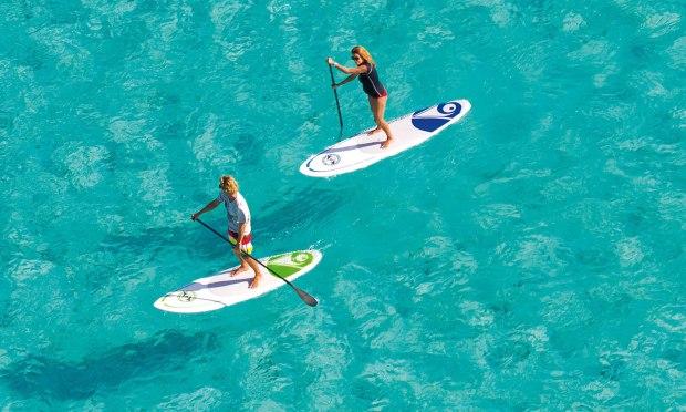 Stand up Paddle contre la chaleur