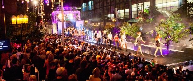 Défilé festival de la mode et du design à Montréal Canada
