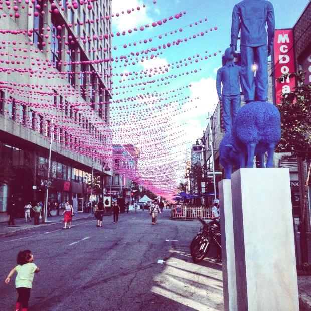 Quartier Gay Montréal Canada