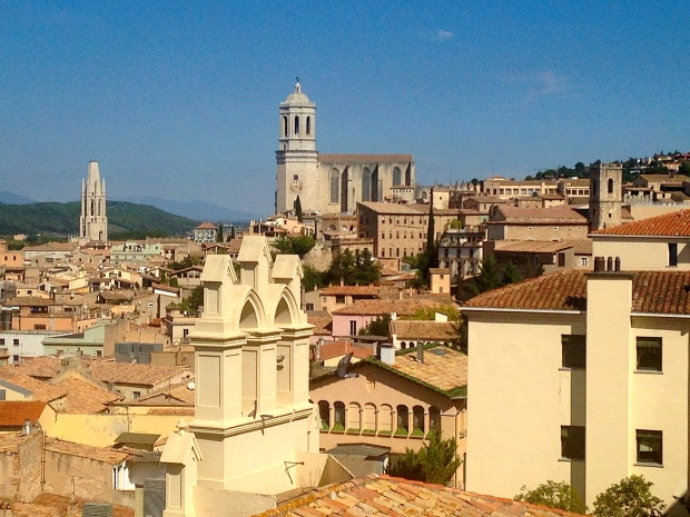 Girona depuis la muraille