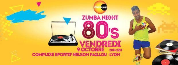 Zumba Night années 80 avec Samir Labidi à Lyon