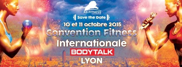 Convention internationale de fitness Body Talk à Lyon