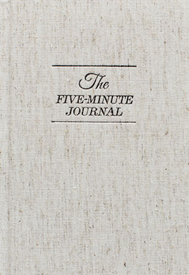 Livre de gratitude the 5 minute journal