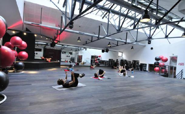Salle de cours du club de fitness Wellness Sport Club à Lyon