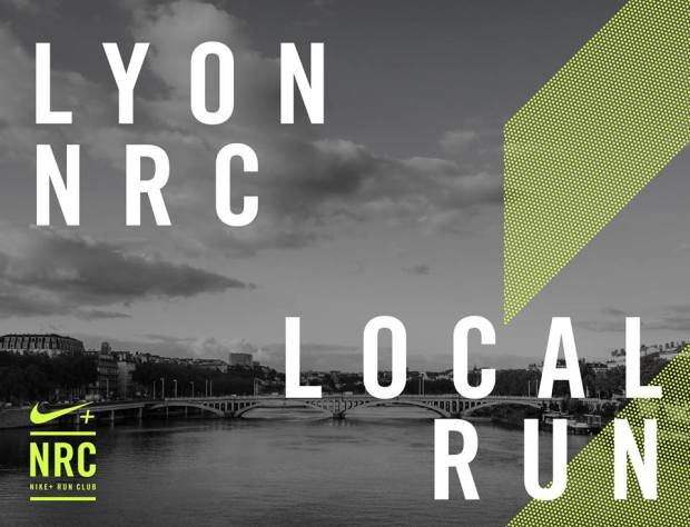 We run Lyon ! Session running organisée par Nike à Lyon