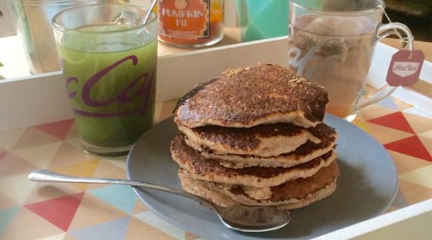 Ma recette de pancakes protéinés pour le petit-déjeuner
